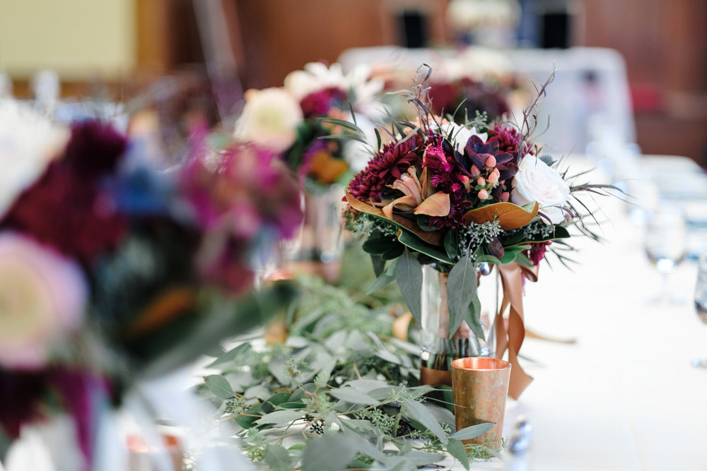 Fall florals from rockford wedding photographer b. adams photography