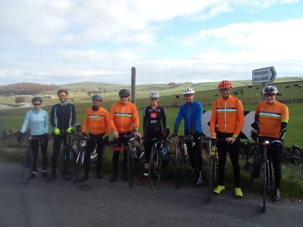 The road out: Janet, Tim, Russell, Andrew, Mon, Simon, Mark, John. Early kick off: Steve.