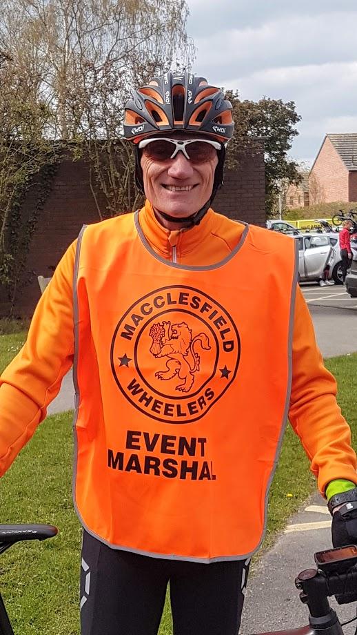 Macclesfield Wheeler Event Marshal Nigel