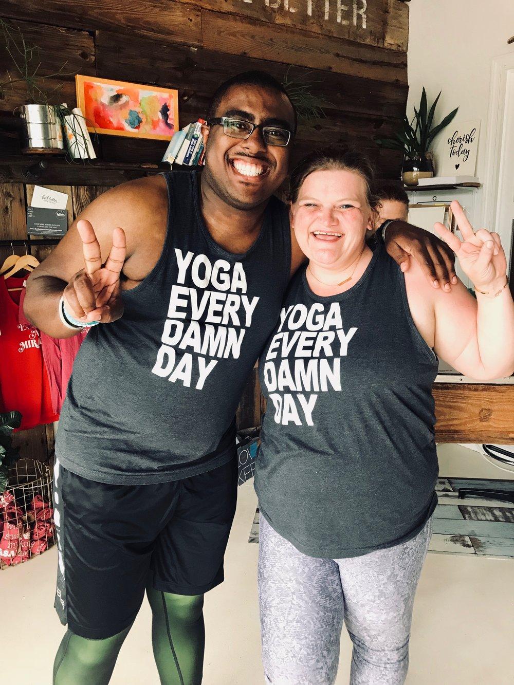 Heated Yoga Studio in North Carolina