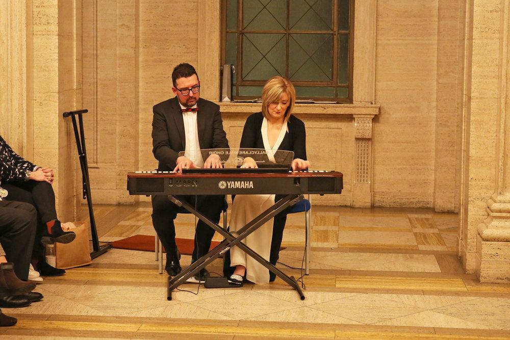 Darren Baird and Sheelagh Greer