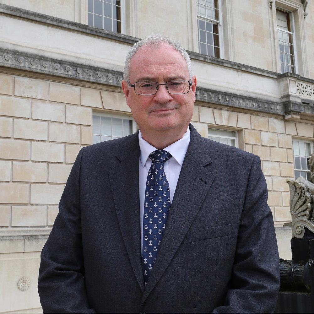 Dr Steve Aiken OBE MLA