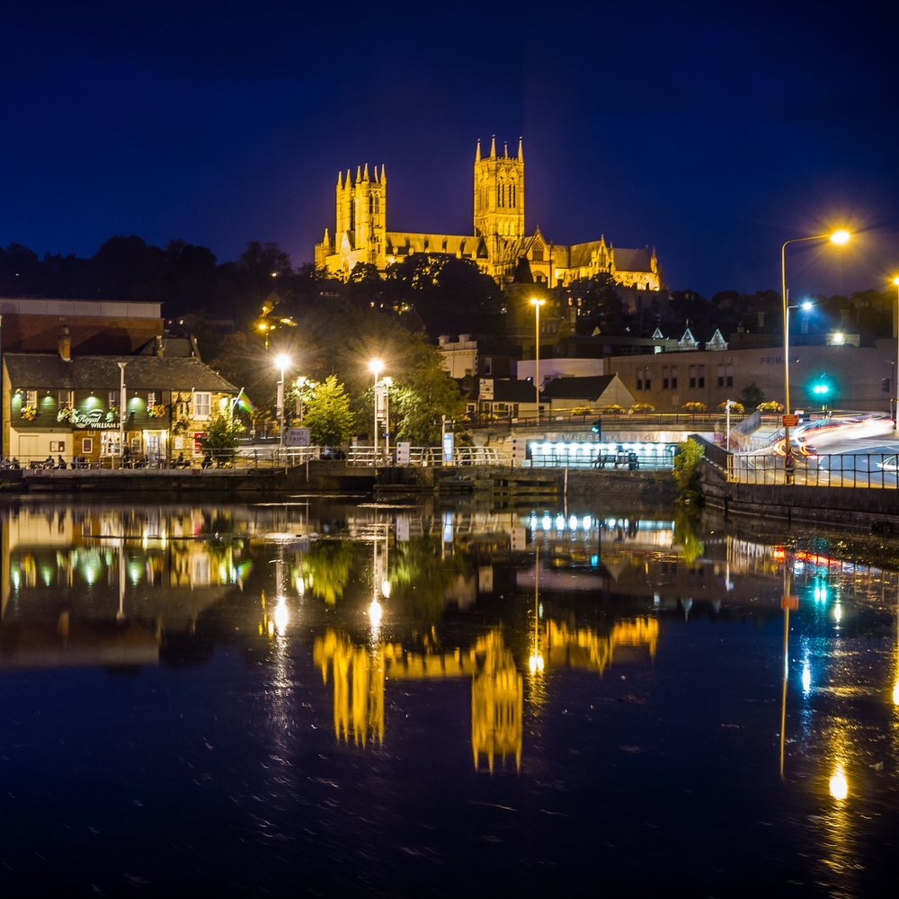 Lincoln Cathedral Viewed from Brayford Pool