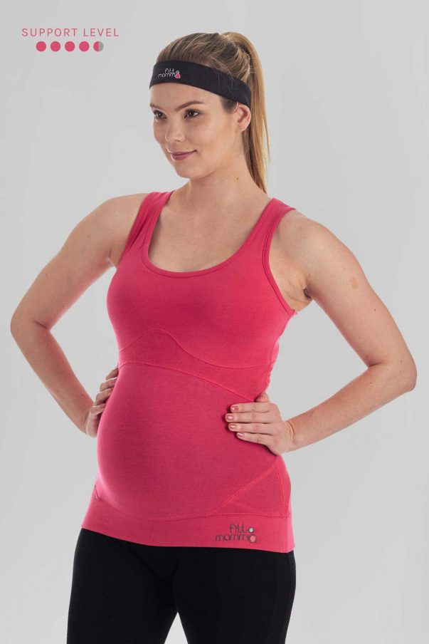 ..High Support Pregnancy Exercise Top