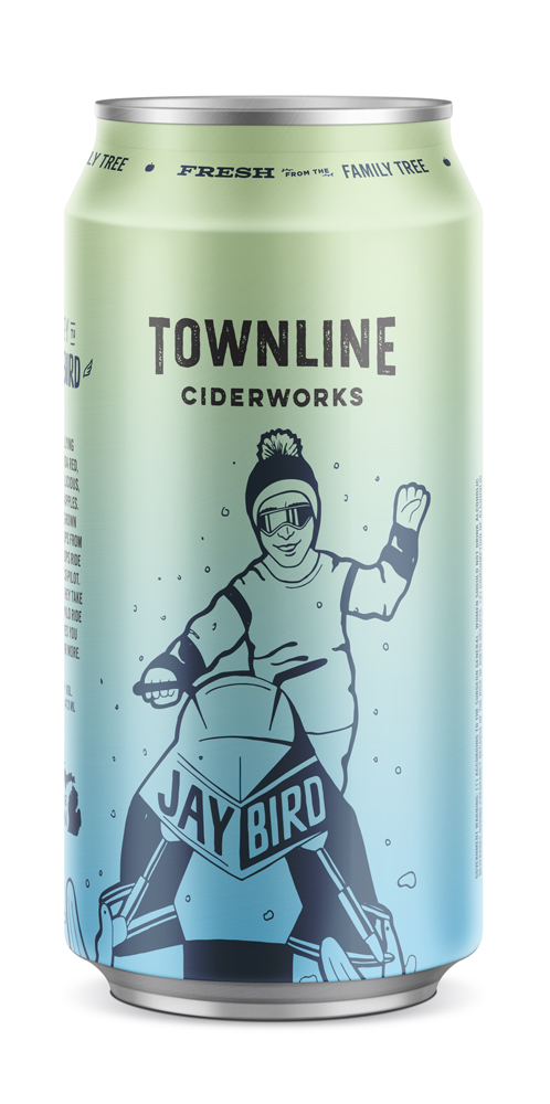 jay bird - Say hey to Jay Bird. A high flying blend of Ida Red, Yellow Delicious, & Crispin apples. Locally grown Cascade hops from MI Local Hops ride along as co-pilot. Together, they take you for a wild ride that leaves you begging for more.6% alc. / vol.