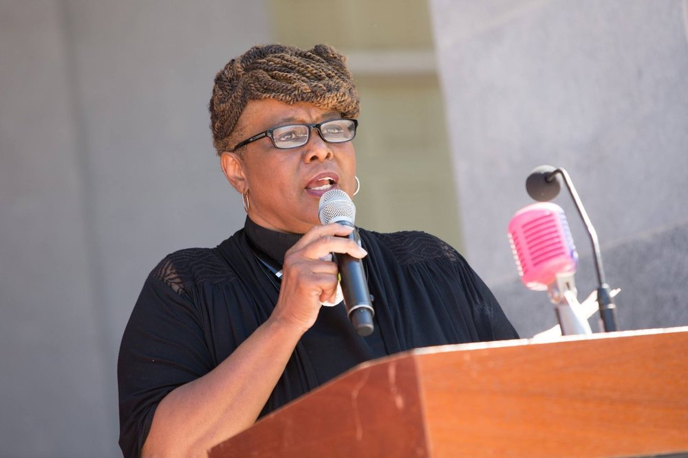 """Pastor Joy Bio - Reverend Dr. Joy Johnson is known as a """"public theologian."""" Her ministry calling is to preach for CHANGE… change of mind; change of attitude; change of heart; change of direction; change of relationship; change of resources and/or change in action!"""