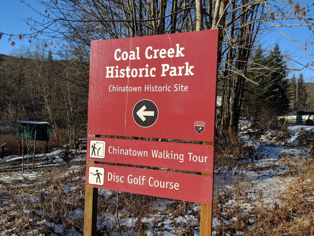 Coal Creek Historic Site sign Feb 2019.jpg