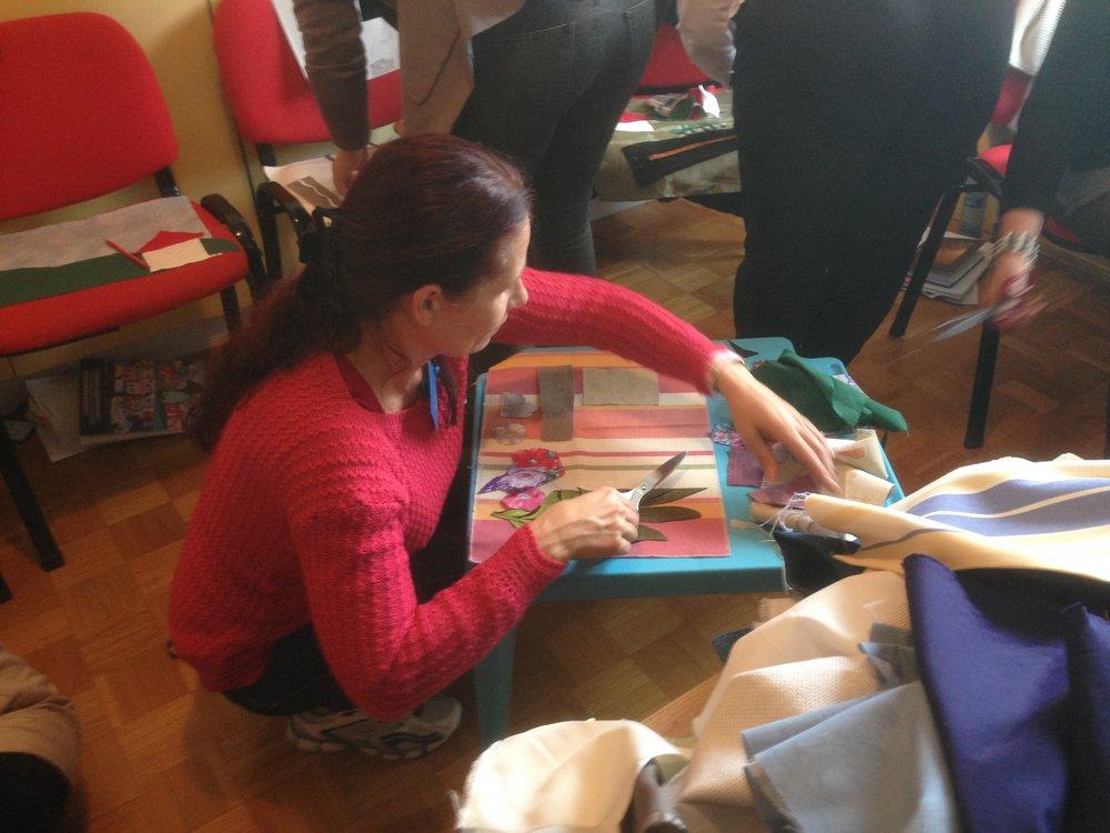 cutting cloth Bosnia.JPG