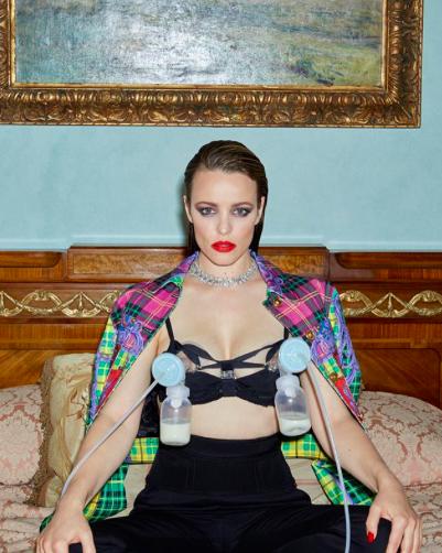 Rachel McAdams in Girls, Girls, Girls Magazine