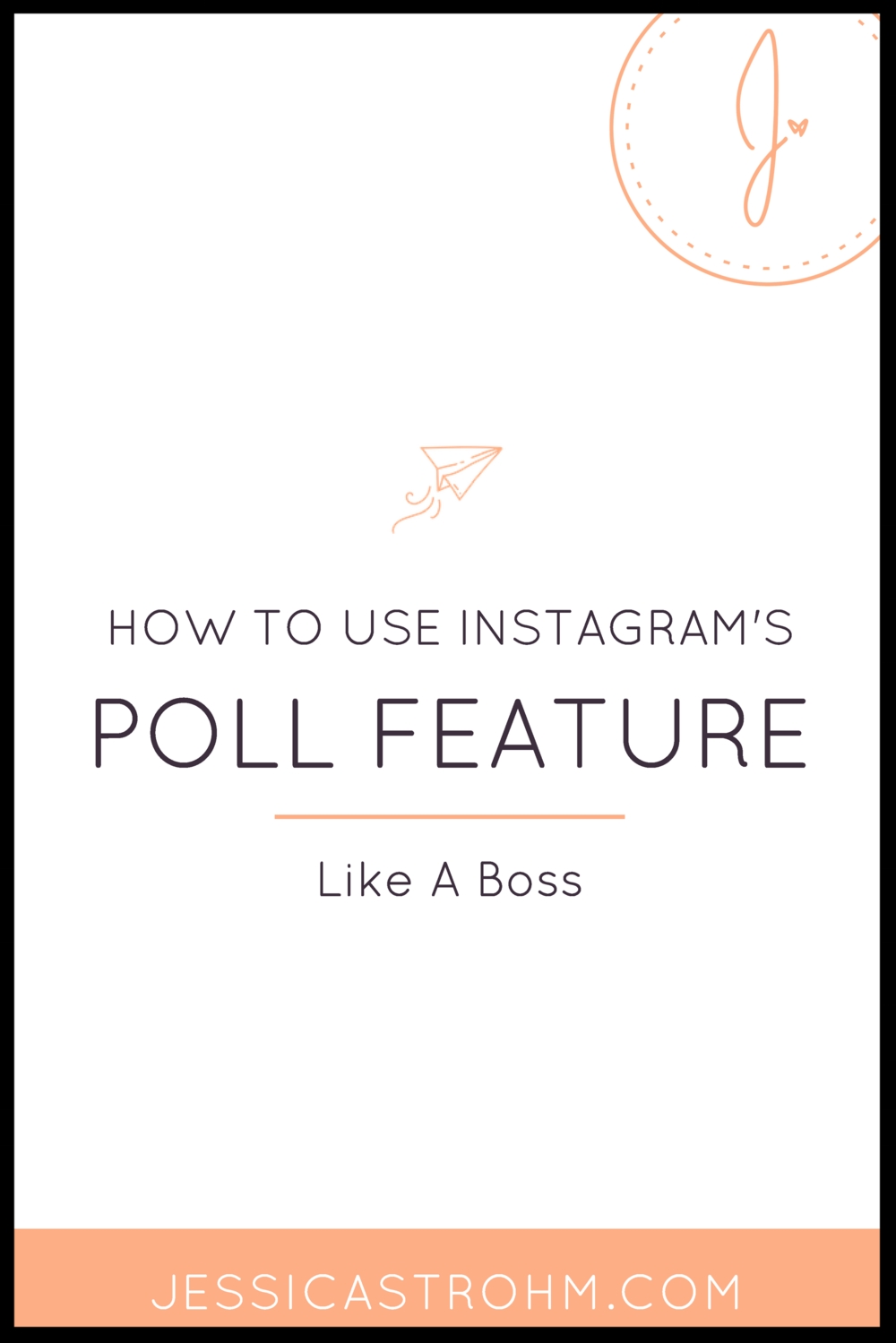Creative ways to use Instagram's poll feature in your creative business.