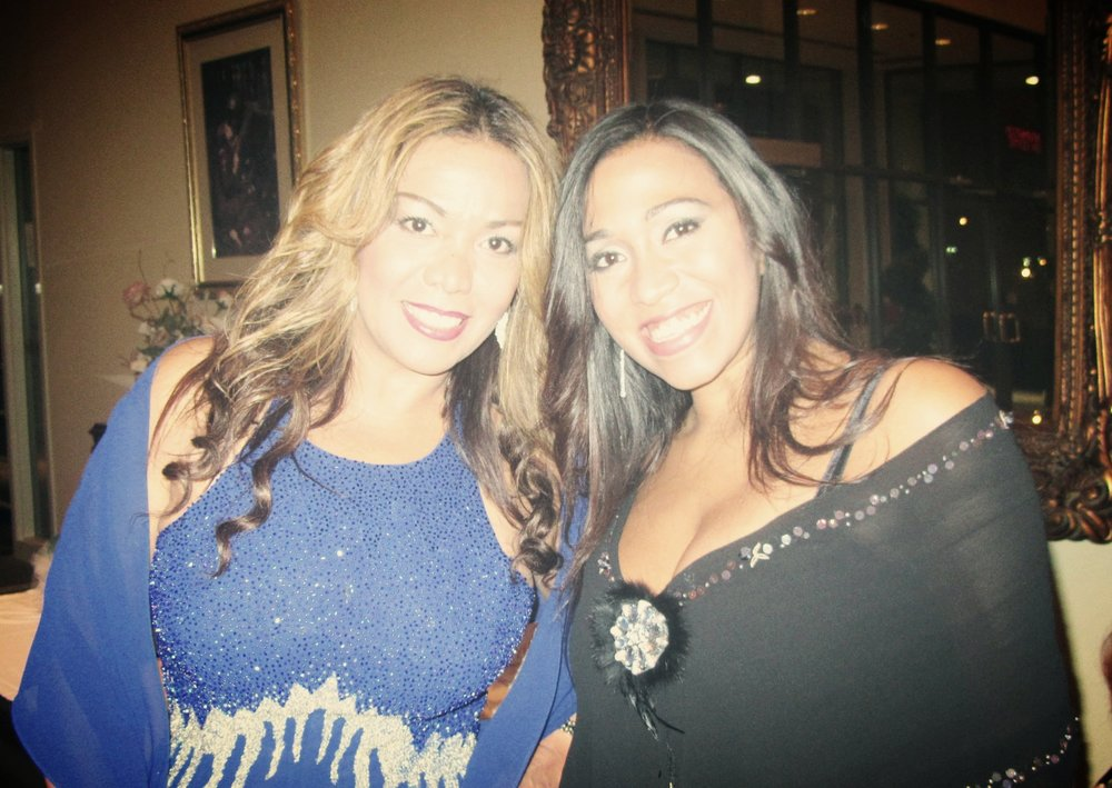 Emperatriz, Founder & Creative Director (L). Carolina, Co-founder and Communications Director (R).