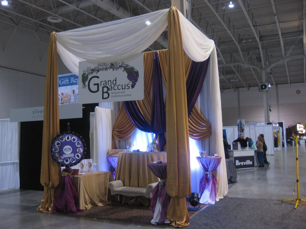 Bridal Show Booth decor