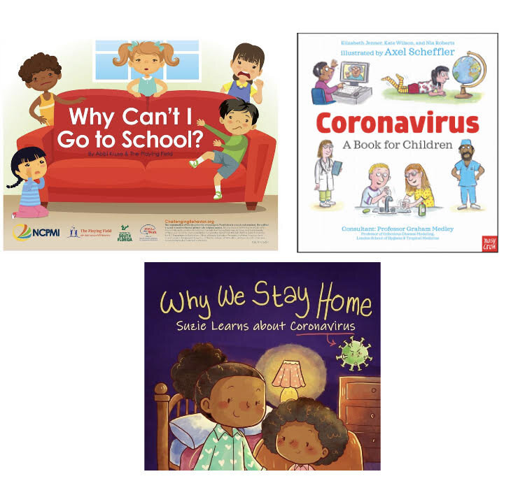 Coronavirus Books For Young Children Available To Download For Free