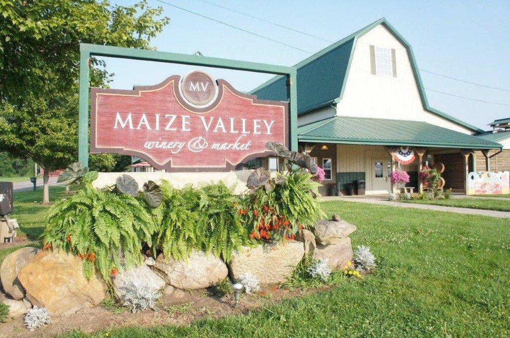 - 6193 Edison St. NEHartville, Ohio 44632Click for Map330-877-8344maizevalley.comCanal Country Wine TrailStark County