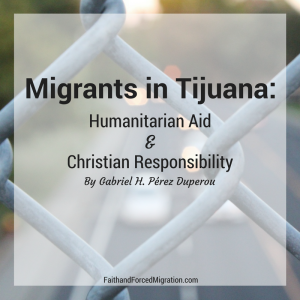 """Migrants in Tijuana are """"trapped at the border"""" and in need of assistance and compassion."""
