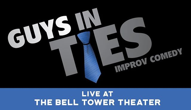 """We are back at our """"home away from home"""" TONIGHT at @belltowertheater in Dubuque @ 7:30PM! These shows tend to sell out, so get your tickets soon @ BellTowerTheater.net! #gitimprov"""