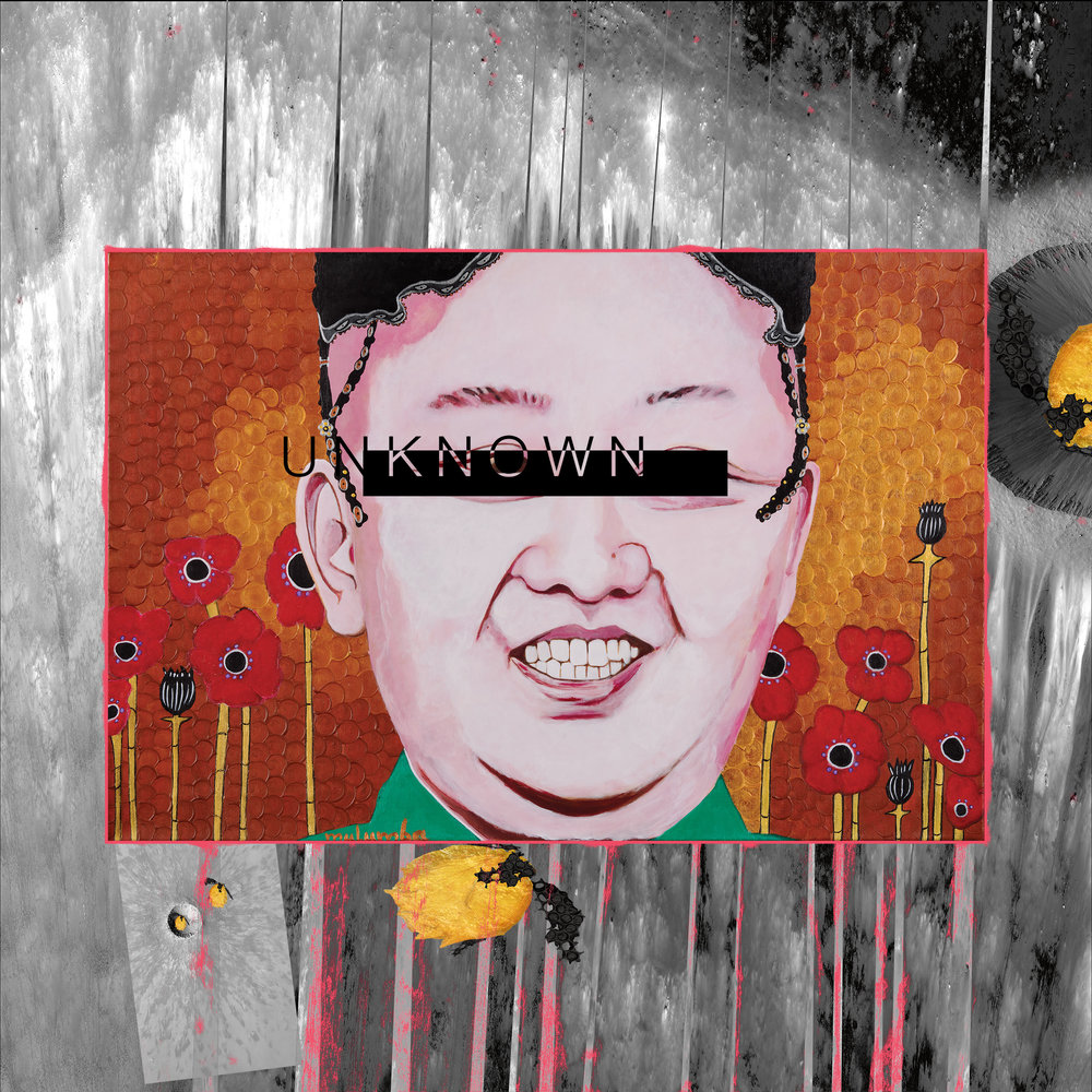 MULUMBA The Dictator's Garden II Kim Jong Il Moonscape UNKNOWN.jpg