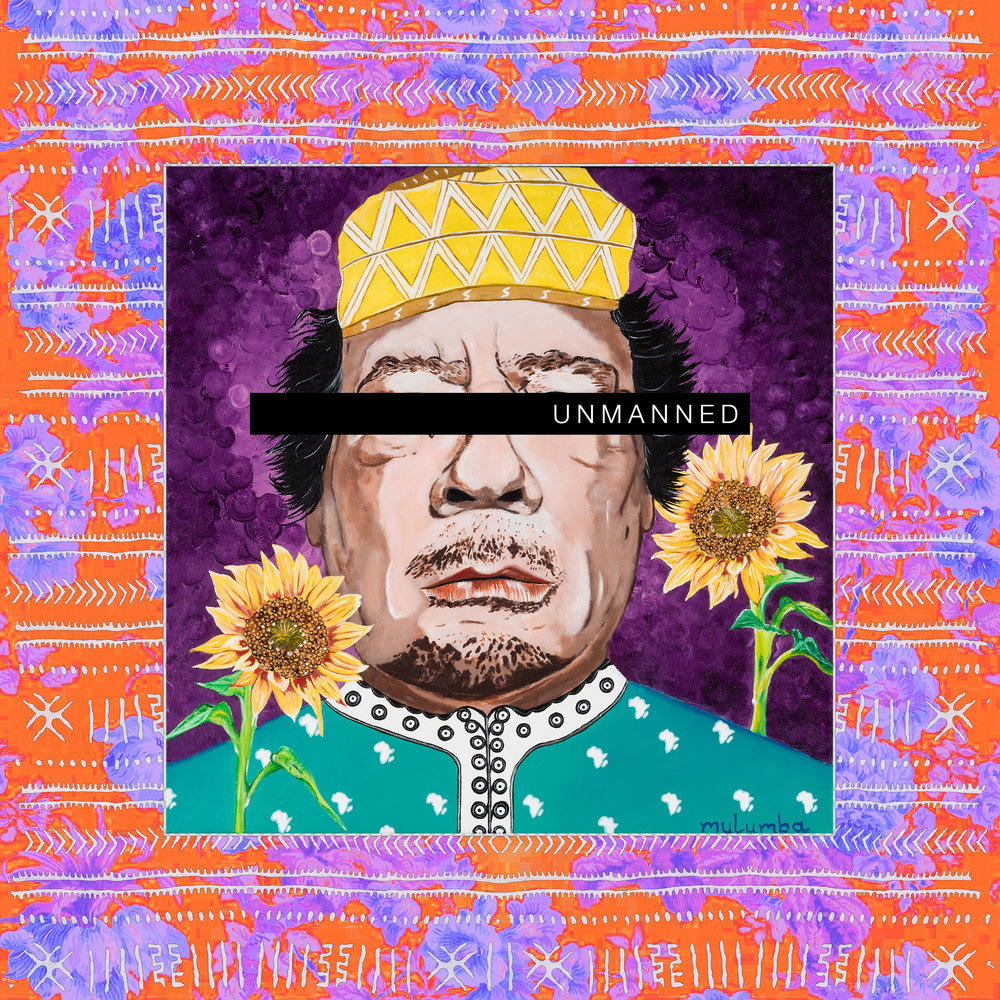 MULUMBA The Dictator's Garden I Muammar Gaddafi Herringcloth UNMANNED.jpg