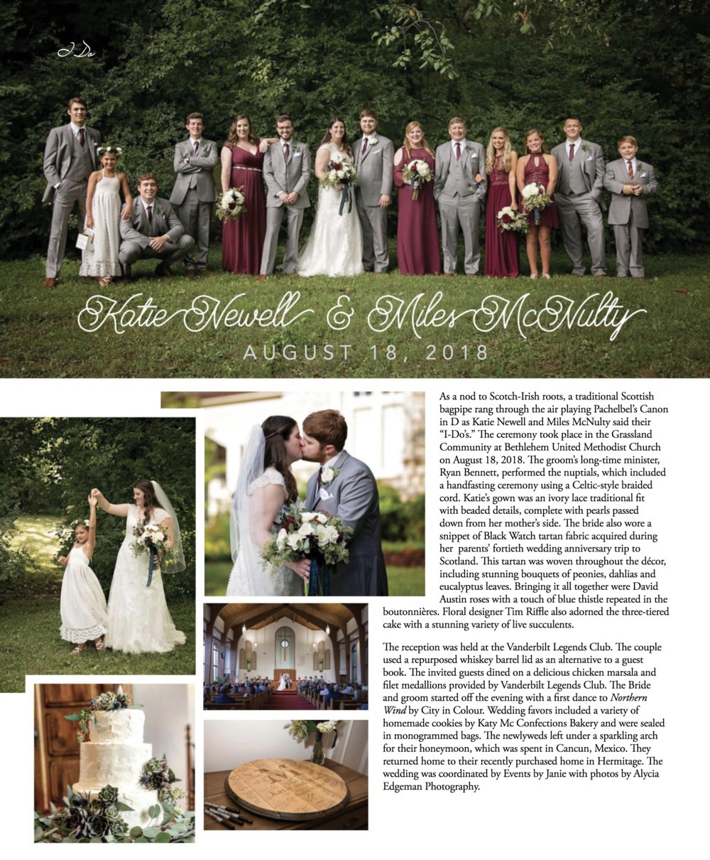 EBJ & Company Feature in Distinctively Southern Wedding Magazine Fall 2018.png