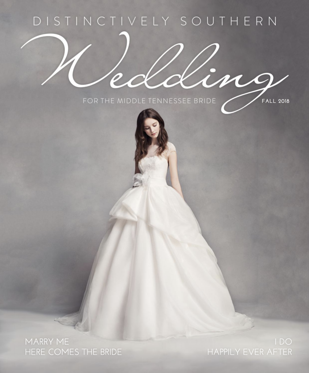 Feature in Distinctively Southern Wedding Magazine Fall 2018 - EBJ & Company.png