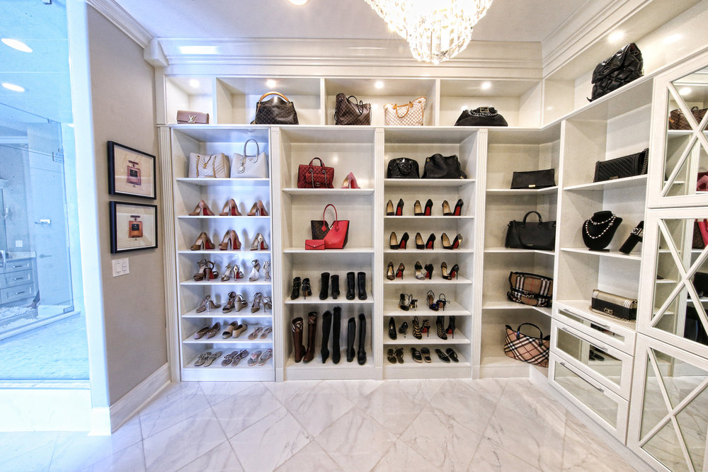Closets, bathrooms, and more
