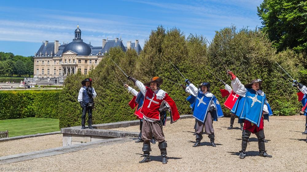 Saluts - Château de Vaux-le-Vicomte - Juin 2017