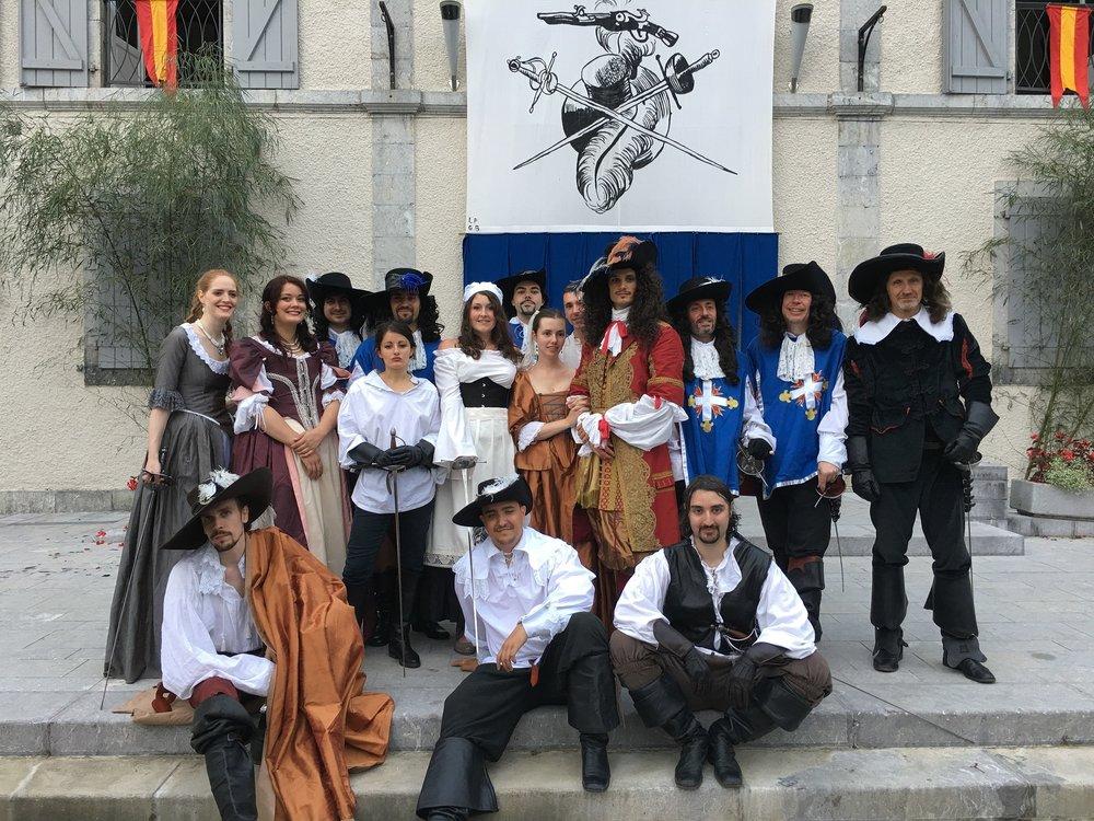D'Artagnan, Mousquetaire du Roy - Arette - Août 2017