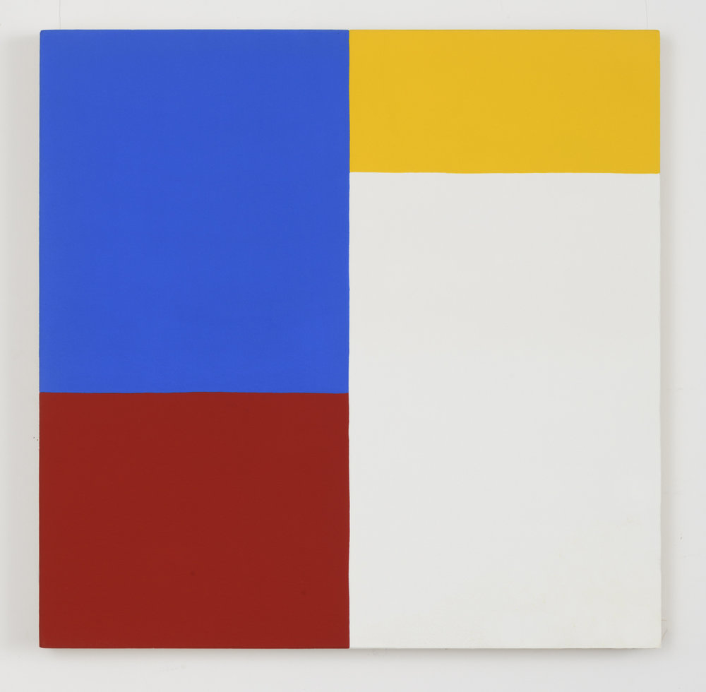 Untitled #5 , 1977 acrylic on canvas 26-1/8 x 26-1/8 inches