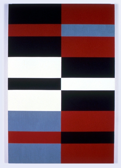 Untitled,  1982 acrylic on canvas 35 x 52-1/2 inches
