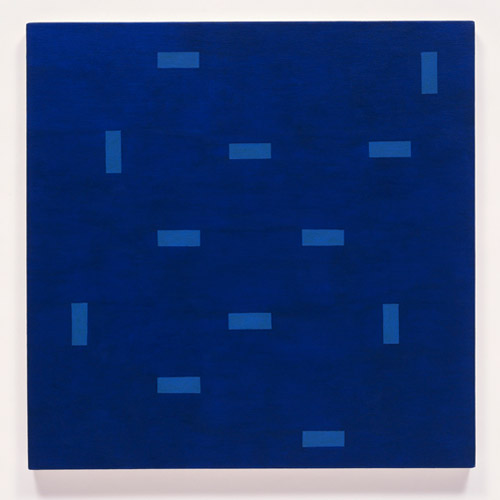 Jazz Notes #27 , 2009 raw pigment, acrylic on canvas 33 x 33 inches