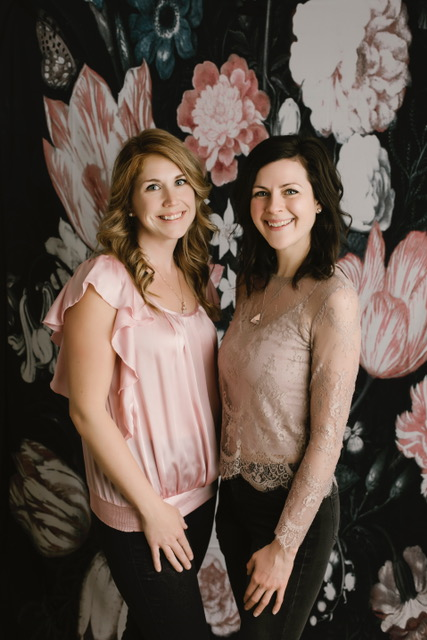 Meet Laura & Steph;   Your Beautiful Life   Retreat hosts