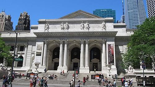 new york public library exterior