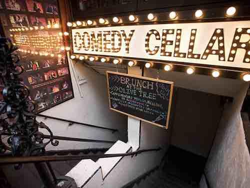 comedy cellar exterior