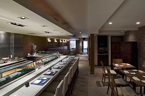 interior sushi of gari