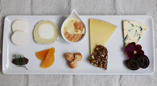 Casellula wine bar cheese platter
