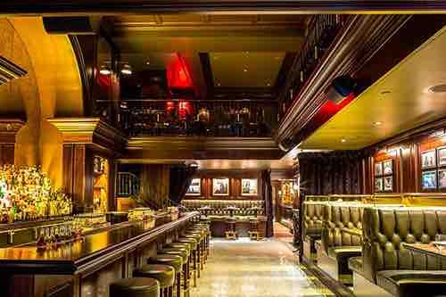 interior view at nomad bar