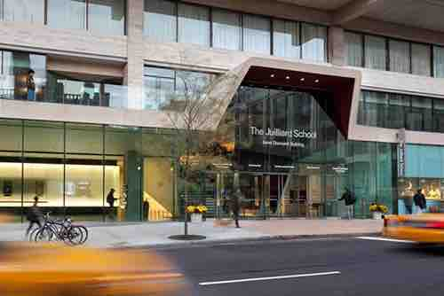 juilliard school entrance lincoln center manhattan new york city ny