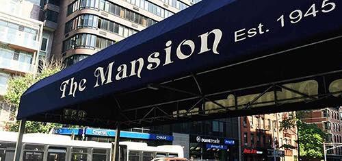 banner at the mansion diner