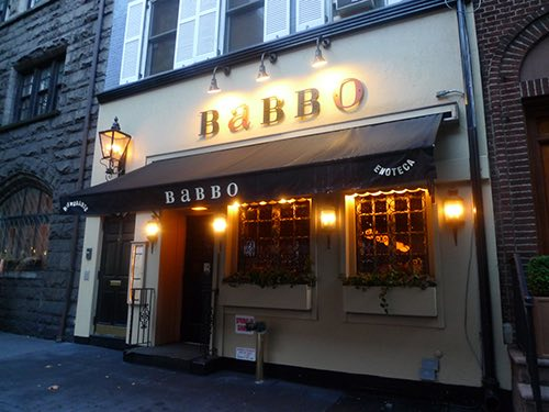 babbo exterior street view