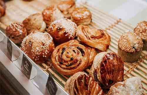 Financier Patisserie Breakfast Pastries Cedar Street Manhattan New York City, NY
