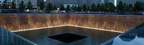 fountains at national september 11 memoria
