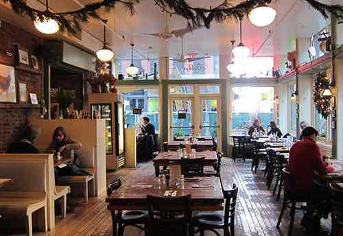 bubbys restaurant inside tribeca