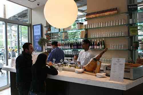 epicerie boulud daniel boulud casual wine bar counter