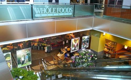whole foods escalator columbus circle time warner center manhattan new york city ny