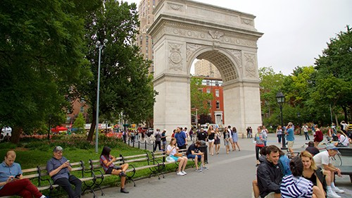 the arch at greenwich village manhattan new york city ny