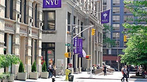 nyu campus in manhattan new york city ny