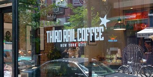 third rail coffee shop greenwich village manhattan new york city