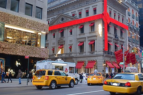 cartier on 5th avenue in midtown manhattan new york city, ny