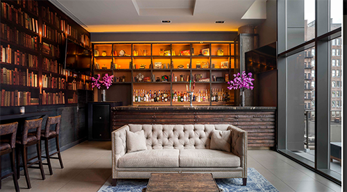 royalton park avenue lounge couch photo manhattan new york city ny