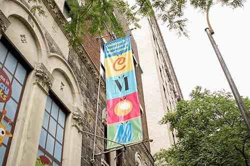 childrens museum of manhattan exterior 83rd street upper west side